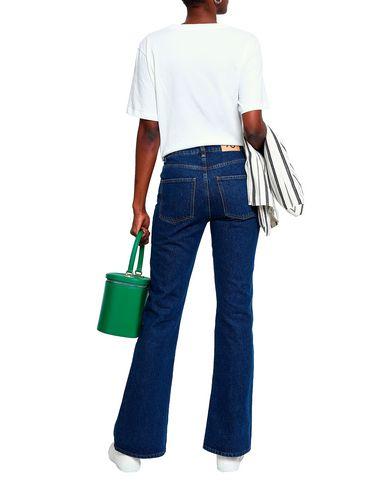 Фото 2 - Женскую футболку ALEXACHUNG белого цвета