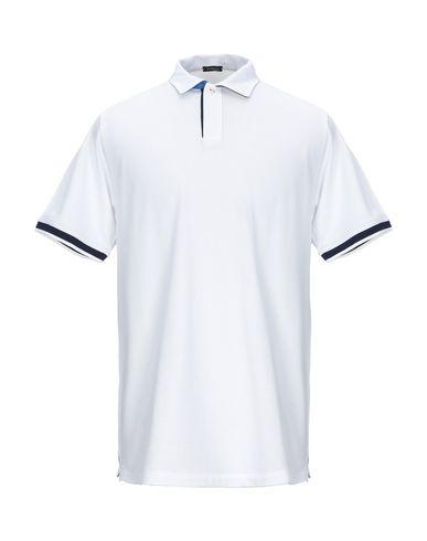 Купить Мужское поло KITON белого цвета