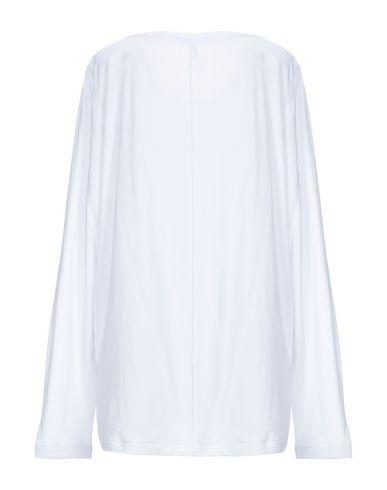 Фото 2 - Женскую футболку SUN 68 белого цвета