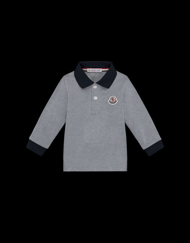 POLO SHIRT Grey Baby 0-36 months - Boy