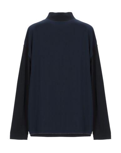 Фото 2 - Женскую футболку FABIANA FILIPPI темно-синего цвета