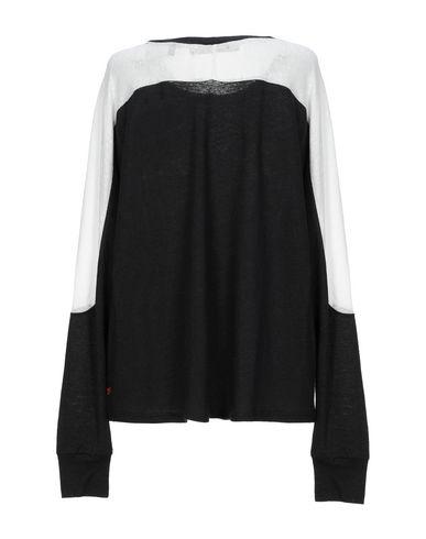Фото 2 - Женскую футболку JUNE 72 черного цвета