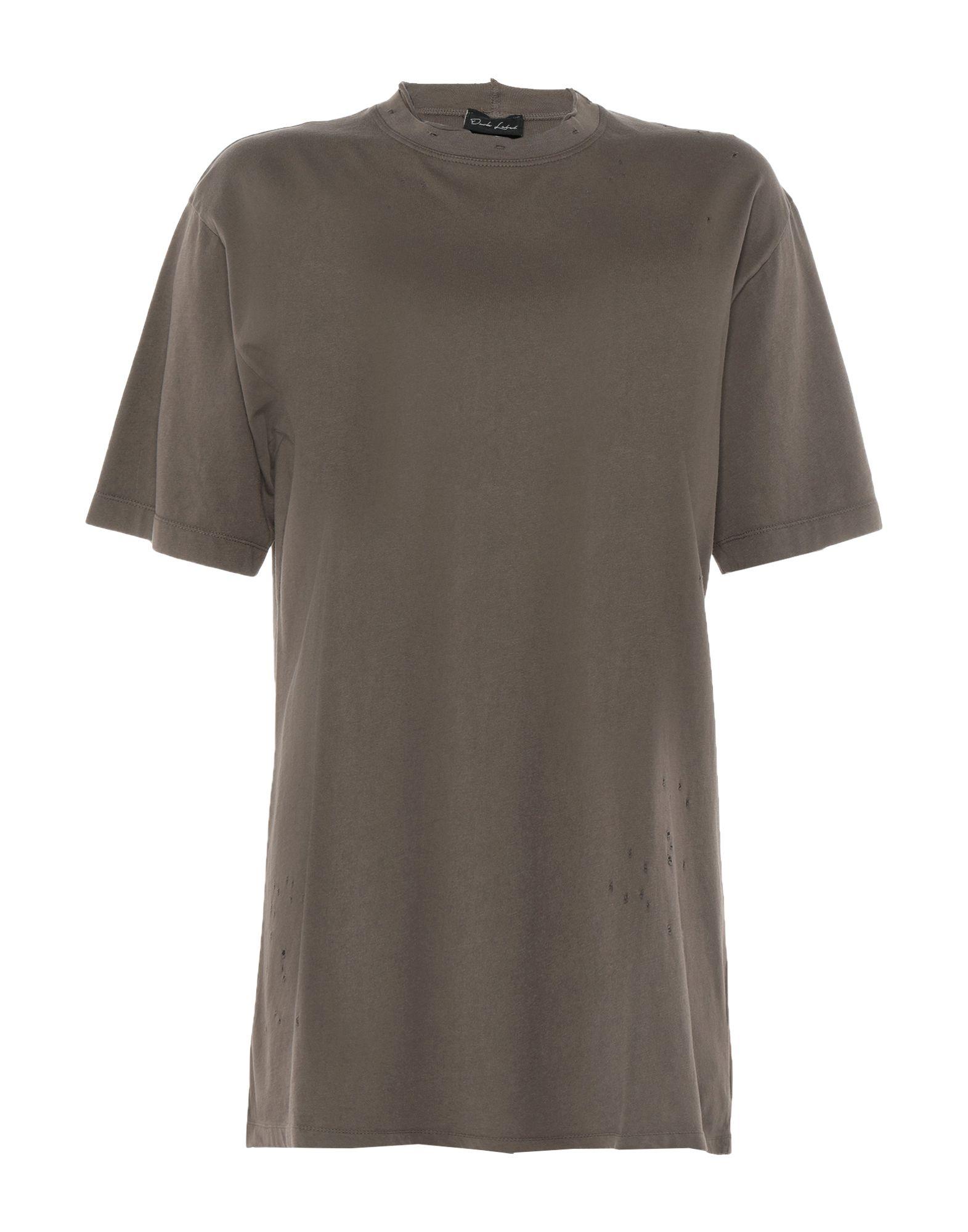 《セール開催中》DARK LABEL メンズ T シャツ ミリタリーグリーン M コットン 100%