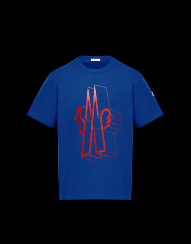 T-SHIRT Blue Polos & T-Shirts Man
