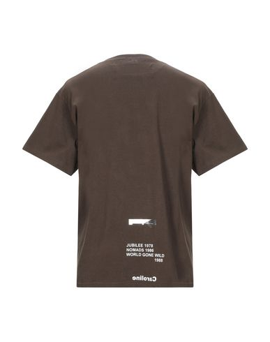 Фото 2 - Женскую футболку SOLD OUT цвета хаки