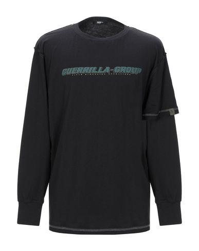 Фото - Женскую футболку GUERRILLA GROUP черного цвета