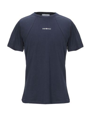 Купить Женскую футболку HAMAKI-HO темно-синего цвета