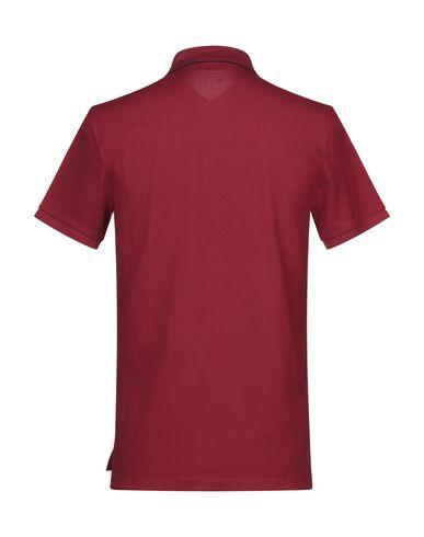 Фото 2 - Мужское поло  красного цвета