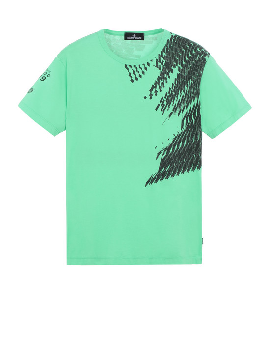 STONE ISLAND SHADOW PROJECT 20610 PRINTED SS-T Short sleeve t-shirt Man Green