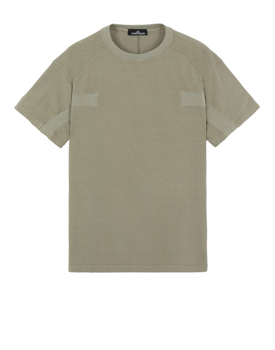 STONE ISLAND SHADOW PROJECT 20511 CONTOUR T-SHIRT 短袖 T 恤 男士 军绿色