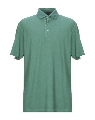 Купить Мужское поло GRAN SASSO зеленого цвета