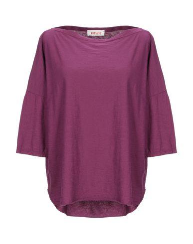 Купить Женскую футболку  цвет пурпурный