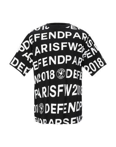 Купить Женскую футболку DEFEND черного цвета