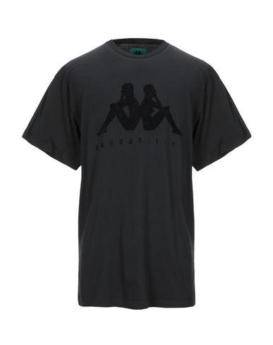 Купить Женскую футболку DANILO PAURA x KAPPA черного цвета