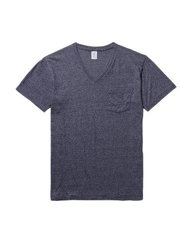 Купить Женскую футболку VELVA SHEEN темно-синего цвета