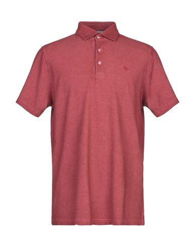 Купить Мужское поло GRAN SASSO красного цвета