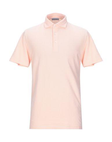 Купить Мужское поло GRAN SASSO лососево-розового цвета