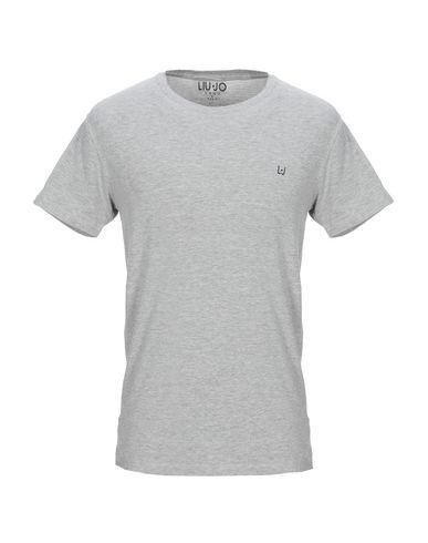 Фото - Женскую футболку LIU •JO MAN светло-серого цвета