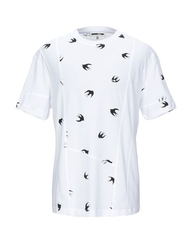 Купить Женскую футболку McQ Alexander McQueen белого цвета
