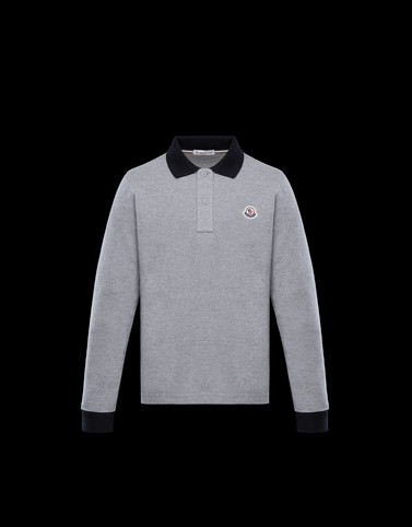 POLO SHIRT Grey New in
