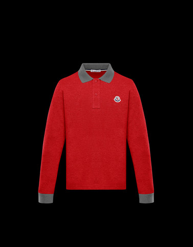 POLO SHIRT Red Teen 12-14 years - Boy Man