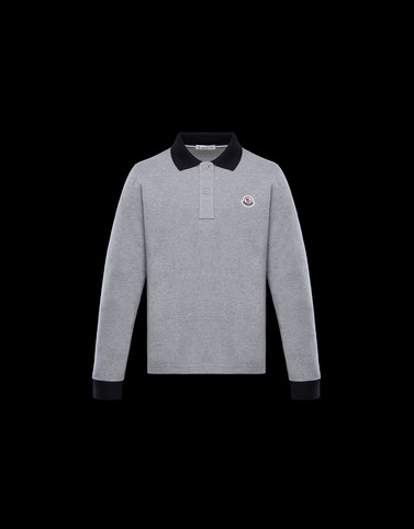 POLO SHIRT Grey Kids 4-6 Years - Boy