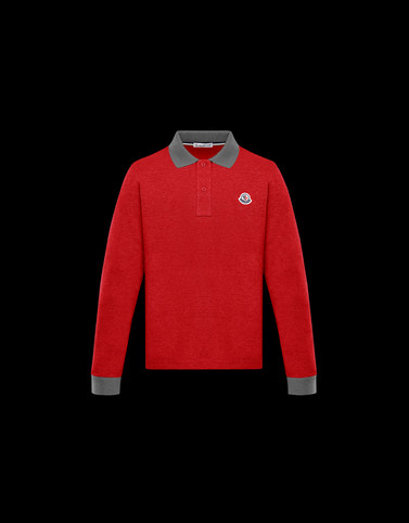 POLO SHIRT Red Kids 4-6 Years - Boy