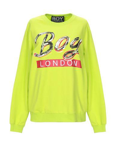 Купить Женскую толстовку или олимпийку BOY LONDON кислотно-зеленого цвета
