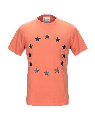 Купить Женскую футболку ÉTUDES STUDIO оранжевого цвета