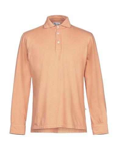 Купить Мужское поло  оранжевого цвета