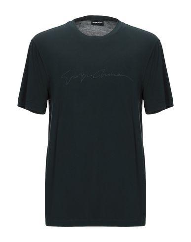 Купить Женскую футболку  темно-зеленого цвета