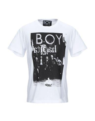 Купить Женскую футболку BOY LONDON белого цвета