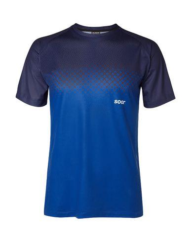 Купить Женскую футболку SOAR синего цвета