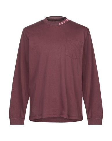 Фото - Женскую футболку  красно-коричневого цвета