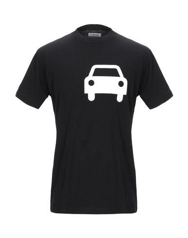 Купить Женскую футболку LOREAK черного цвета