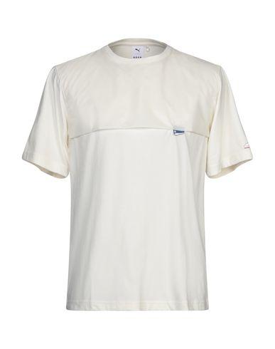 Купить Женскую футболку PUMA x ADER ERROR цвет слоновая кость