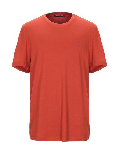 Купить Женскую футболку MICHAEL KORS MENS ржаво-коричневого цвета