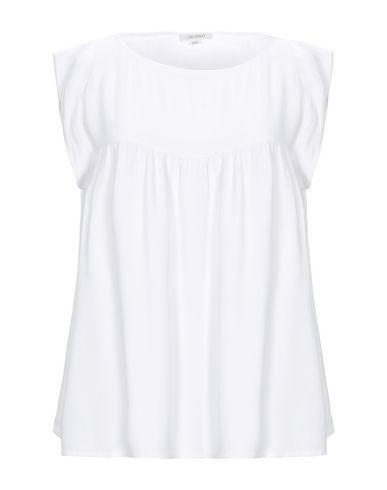 Купить Женскую блузку CROSSLEY светло-серого цвета