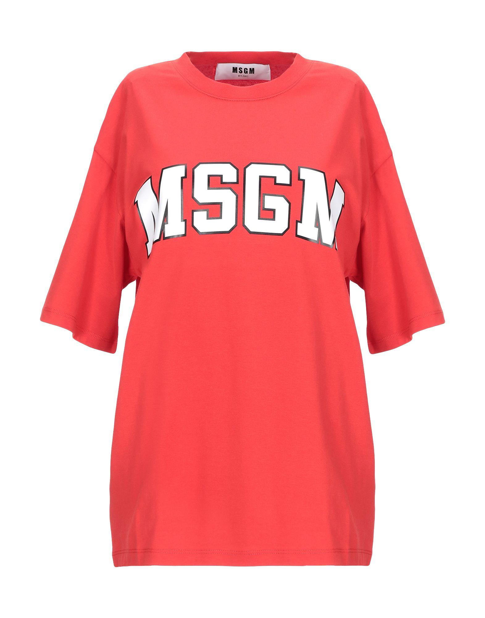 цена MSGM Футболка онлайн в 2017 году