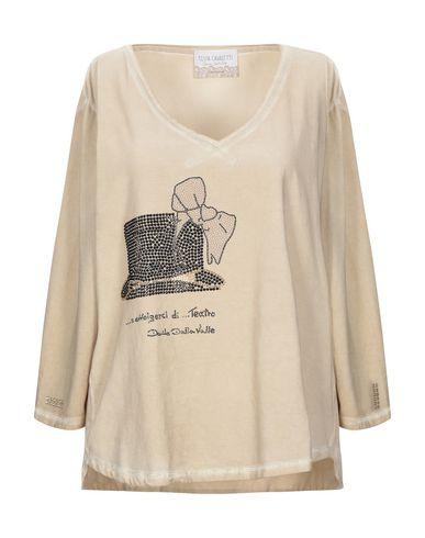 Купить Женскую футболку ELISA CAVALETTI by DANIELA DALLAVALLE цвет песочный