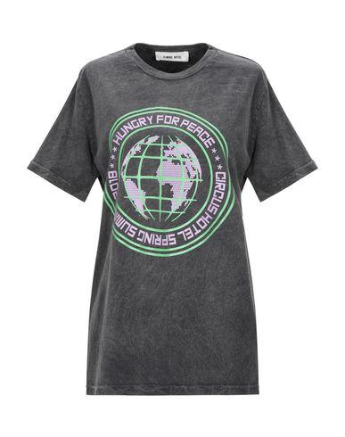 Купить Женскую футболку CIRCUS HOTEL цвет стальной серый