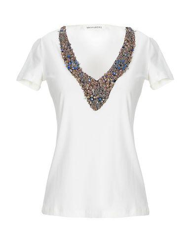 Купить Женскую футболку ERMANNO DI ERMANNO SCERVINO цвет слоновая кость
