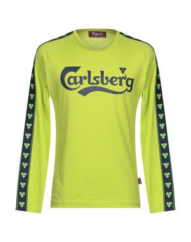 Купить Женскую футболку CARLSBERG светло-зеленого цвета