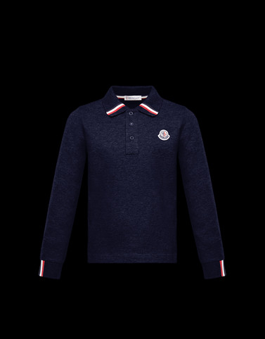 POLO SHIRT Dark blue Junior 8-10 Years - Boy Man