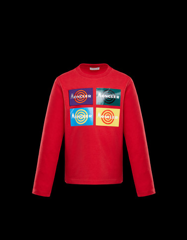 T-SHIRT Red Junior 8-10 Years - Boy