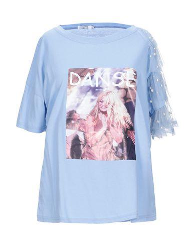 Купить Женскую футболку  синего цвета