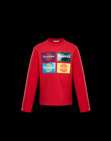 T-SHIRT Red Kids 4-6 Years - Boy