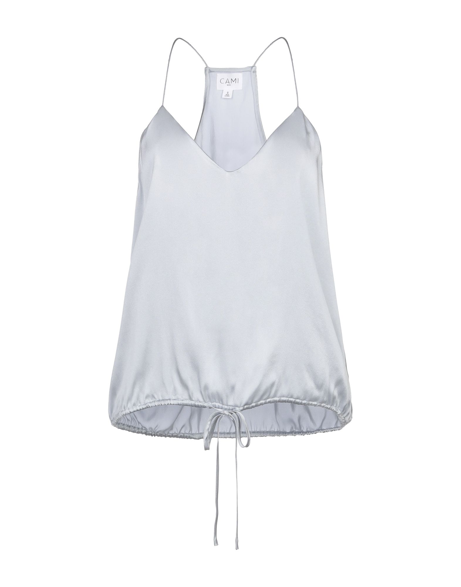 CAMI NYC Топ без рукавов embroidered lace trim cami top