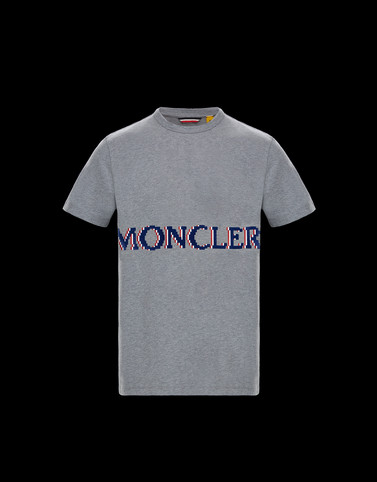T-SHIRT Grey 2 Moncler 1952 Valextra Man