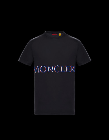 Tシャツ ブラック 2 Moncler 1952 Valextra メンズ